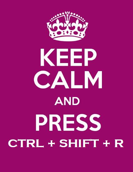 ctr shift r