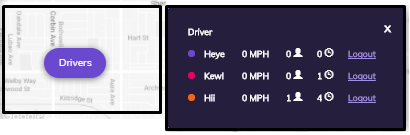 driver details